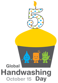 Global Handwashing Day 5th aniversary logo